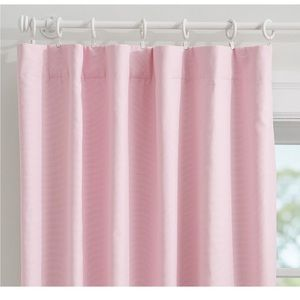 Pottery Barn kids Quincy blackout pink panel 44x63